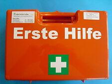 Betriebsverbandkasten leer Verbandkasten DIN 13157 C Erste Hilfe mit Wandhalteru