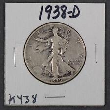 1938-D 50c WALKING LIBERTY HALF DOLLAR *KEY DATE COIN* LOT#K438