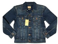 Wrangler Herren Trucker Jeansjacke Herrenjacke NEU MID STONE Gr:L Jacket blau