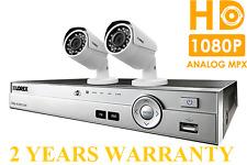 NEW Lorex 1TB Security Camera System 2 HD Night Vision 1080P Cameras 2YR WARRNTY