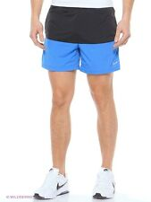 "NEW-Nike 5"" Distance  Flex Running, Gym, Shorts. Zip pocket- LARGE, Black, Blue"