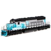 Athearrn ATH71628 SD40-2 w/DCC & Sound NS/Maersk #3329 RTR Train HO Scale