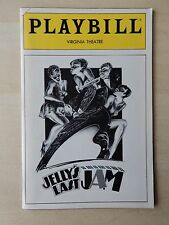September 1992 - Virginia Theatre Playbill - Jelly's Last Jam - Gregory Hines