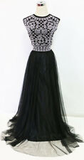 XSCAPE Black 2 Pieces Prom Evening Gown 10 - $200 NWT