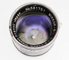 Nikkor 5cm f1.4 Leica SM  #331751