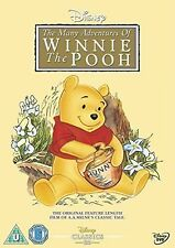 WINNIE THE POOH - THE MANY ADVENTURES OF WINNIE THE POOH - NEW DVD - IN STOCK -