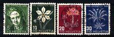 SWITZERLAND - SVIZZERA - 1943 - Pro Juventute. Effige dello scrittore R Toepffer