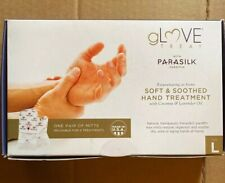 Parasilk gLove Treat, Hand Treatment W/Coconut & Lavender Oil Mitts - Sz. Lg A8