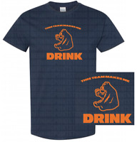 Chicago Bears This Team Makes Me Drink T-Shirt | Drunk Jersey Trubisky Foles