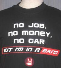 New Rock Star Adult Medium Black T-Shirt (M Music Teach Teacher Heavy Metal Band