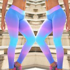 Fitness mujer Activewear Leggings Pantalón de Yoga Gimnasio Pantalones Ejercicio