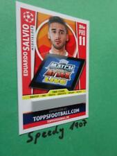 Topps Champions League 2017 18 Limited Edition código pro 11 salvio match coronó