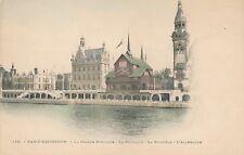 1900 Paris Expo Hand Colored PC – Grande Bretagne, Belgique, Norwege, Allemagne
