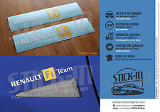 "Autocollants Stickers ""Renault F1 Team"" Clio sport Megane RS R25 R26 172 182 200"