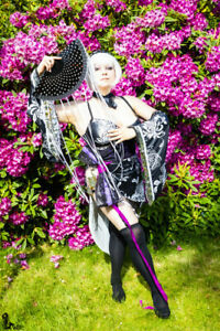 Haku cheongsam Vocaloid cosplay XL