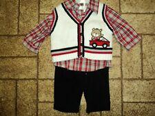 Boy's 3 Piece Outfit. Sz. 3-6 Mos. Adorable!