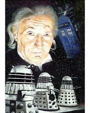 WILLIAM HARTNELL FIRST DOCTOR Limited Edition Art Print No 1/100 NEW!!
