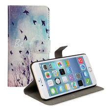 """Beautiful Birds Design Leather Wallet Case Cover Stand For iPhone 6/6s 4.7"""""""