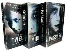 Justin Cronin The Passage Trilogy 3 Books Collection Set (The Passage, The Twelv