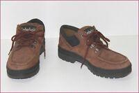 TIMBERLAND Zapatos oxford con encaje Piel Marrón T 7 / T 40 MUY BUEN ESTADO