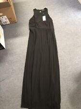 Next black Long Dress Prom Maxi Size 16 Bnwt