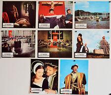 UN HOMME POUR L'ETERNITE-1966-ZINNEMANN-SCOFIELD- Jeu A 8 photos