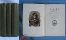 FABLES  De La FONTAINE / Bois Gravés de A. & P. Baudier / 3 Tomes Conard 1930-33