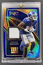 New listing STERLING SHEPARD 2019 PANINI SELECT JERSEY PATCH TIE DYE PRIZM /25 GIANTS