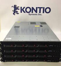 Lot of 4 HP DL360 G7 Server 2 x 2.66Ghz 6 Core Xeon X5650- 72GB RAM 4x 1TB 7.2K