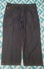 Mecca USA Mens 44x30 Dark Wash Cotton Denim Jeans
