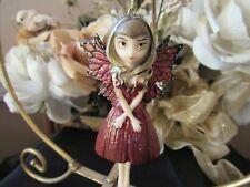 Jasmine Becket-Griffith Strangeling Hint Of Gold Fairy Ornament Retired! Bnib