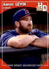2016 High Desert Mavericks Grandstand #12 Aaron Levin Coach - NM Baseball Card