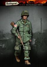 1/35 Scala RESINA MODELLO KIT WW2 Paracadutisti USA # 2
