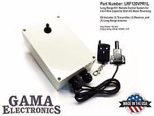 Long Range RF Remote 120VAC Capacitor Start (4-wire) AC Motor Reversing