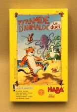 Jeu HABA Pyramide d'Animaux - Le duel - un jeu de superposition