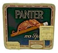 Panter 20 Sprint Ongematteerd Cigarillos Cigar Tobacco Tin Empty Holland Vintage