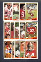 1988 Topps San Francisco 49ers TEAM SET - Joe Montana