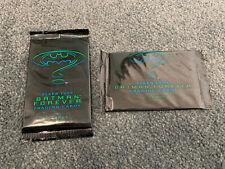 Vintage Trading Cards - Fleer- Batman Forever 1995 - 2xSealed Packs