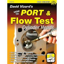 David Vizard Autographed Latest Book How to Port & Flow Test Cylinder Heads