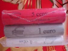 Frankrijk     1,2 en 5 cent Rollen   1999   UNC