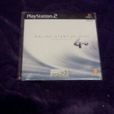 PLAYSTATION 2 PS2 ONLINE START UP DISC 4.0 BROADBAND ONLY SONY NEW