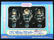 K-on Nendoroid Petit Figure Lawson Limited Mio Akiyama Yui Hirasawa Azusa Nakano