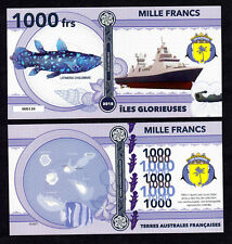 ★★★ ILES GLORIEUSES ● TAAF ● BILLET POLYMER 1000 FRANCS ★★ COLONIE FRANCAISE