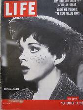 LIFE Sept 13 1954 J Garland, A Star is Born, W Mays, Hurricane Carol, J McCarthy