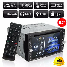 "Double 2Din 6.95"" Car Stereo DVD CD MP3 Player HD In Dash Bluetooth TV Radio SE"