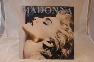 1986 Vinyl LP- Madonna -True Blue- On The Sire Record Company Label
