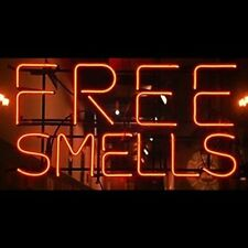 "New Free Smells Beer Pub Bar Store Neon Sign 17""x14"" Ship From USA"