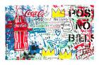 NO POST, NO BILLS Mr. Brainwash MBW signed & Limited to only 70! POP ART print