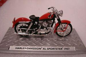 Harley Davidson 1957 XL Sportster -topmodell 1:24