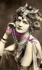 An Exotic Flapper - 1920s - Historic Photo Print